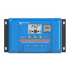 SolárníregulátorPWMBlueSolar5ALCD&USB 12V/24V