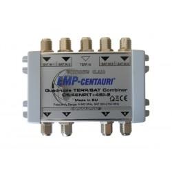 Satelitní slučovač (C5/4ENP(T+4S)-2), 4xSAT IF+1xTV terr., vnitřní, záruka 48 měsíců