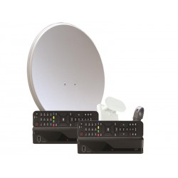 Satelitní přijímač Kaon MZ-50 DOTOVANÝ dvojkomplet