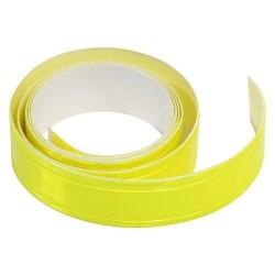 Samolepící páska reflexní 2cm x 90cm, žlutá COMPASS