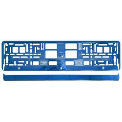 Podložka pod SPZ BLUE metallic COMPASS