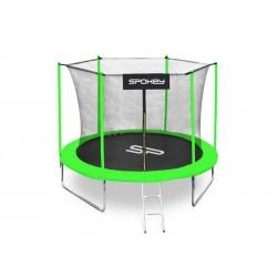 Trampolína SPOKEY JUMPER II 305cm černo-zelená