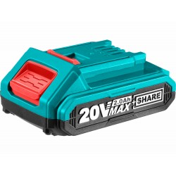 Baterie akumulátorová, 20V Li-ion, 2000mAh, industrial TOTAL-TOOLS