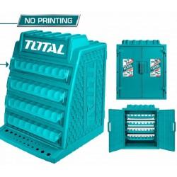Skříňka na vrtáky TOTAL-TOOLS