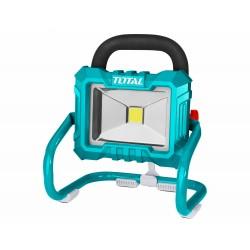 Světlo pracovní přenosné, 20V Li-ion, 2000mAh - bez baterie a nabíječky TOTAL-TOOLS