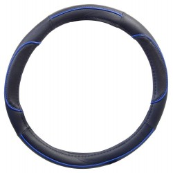 Potah volantu WAVE modrý COMPASS