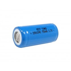 Baterie nabíjecí Li-Ion 16340 3,7V/750mAh TINKO