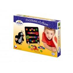 Dětské magnetické puzzle DETOA Počítáme s Krtečkem