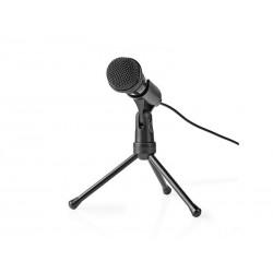 Mikrofon NEDIS MICTJ100BK se stojanem