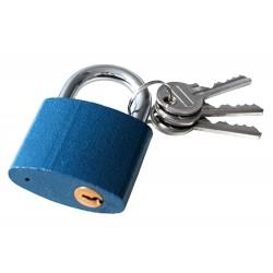 Zámek visací litinový, 25mm, 3 klíče EXTOL-CRAFT