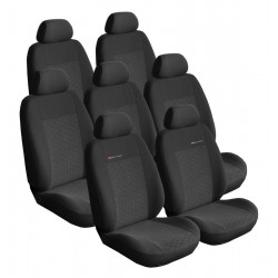 Autopotahy Citroen C4 Picasso I, od r.2006-2013, 7 míst, antracit SIXTOL